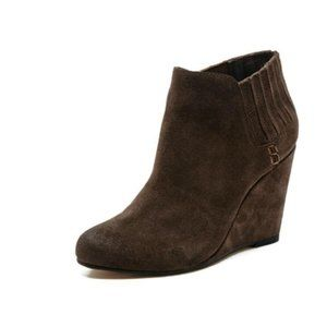 Dolce Vita Gwynn Suede Wedge Booties  10